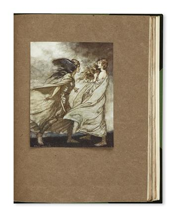 (RACKHAM, ARTHUR.) Wagner, Richard. Rhinegold and the Valkyrie * Siegfried and the Twilight of the Gods.
