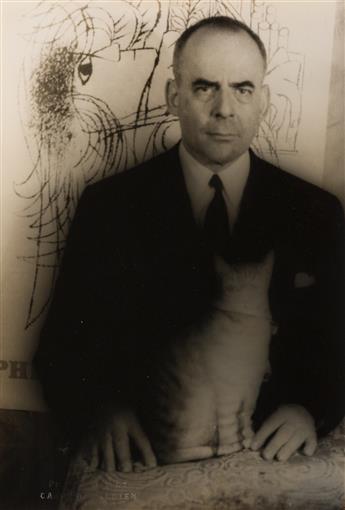 CARL VAN VECHTEN (1880-1964) Lincoln Kirstein.