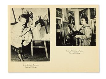 (ART)-WARING-LAURA-WHEELER--BETSY-GRAVES-REYNEAU-Portraits-o