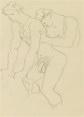 JEAN GENET (1910-1986) ; and JEAN COCTEAU (1889-1963)  Querelle de Brest.