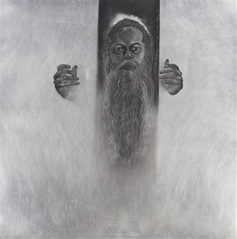 TIMOTHY WASHINGTON (1946 -  ) Self-Portrait.