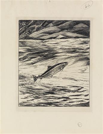 (SHALDACH-WILLIAM--ANGLING)-Arms-Dorothy-Noyes-Fishing-Memor