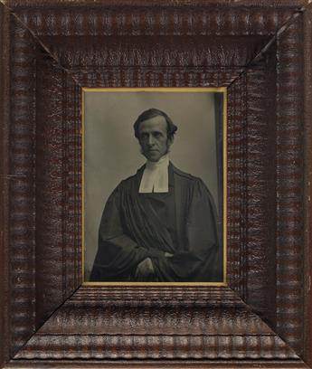 SOUTHWORTH & HAWES (1843-1863) Half-plate daguerreotype of a cleric.