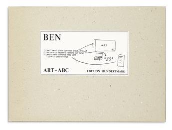 VAUTIER, BEN. ART-ABC.