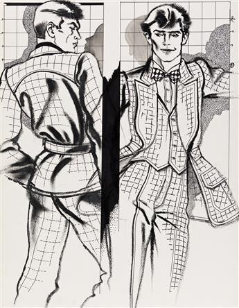 ANTONIO-LOPEZ-(1943-1987)--Europe-is-Wearing