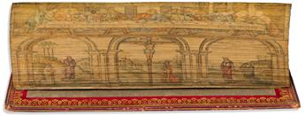 (FORE-EDGE PAINTING.) The Book of Common Prayer, and Administration of the Sacraments, and Other Rites and Ceremonies of the Church,