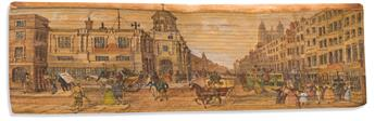 (FORE-EDGE PAINTING.) Young, Edward, Night Thoughts, And a Paraphrase on Part of the Book of Job.