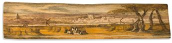 (FORE-EDGE PAINTING.) Thomson, James. The Seasons.