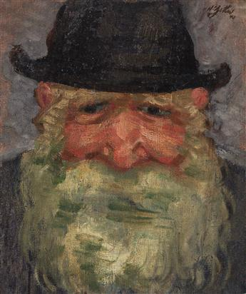 HARRY ZITTER Portrait of a Rabbi.