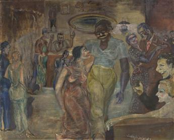JOSEPH DELANEY (1904 - 1991) Artist's Studio Party.