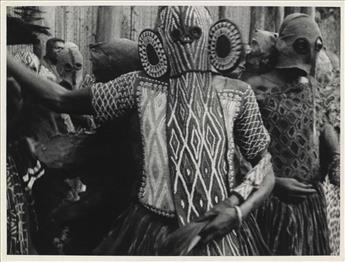 (AFRICA--PHOTOJOURNALISM)-Group-of-12-prints-depicting-nativ