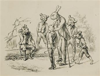 "CULMER BARNES. ""The Bunny Stories."" [CHILDREN'S /"