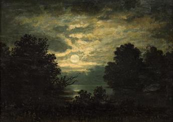 JAMES HAMILTON Moonlit Landscape (Night and Peace).