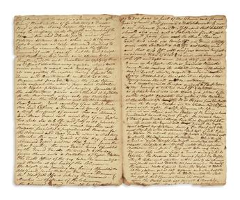 (AMERICAN REVOLUTION--1778.) [Washington, George.] Contemporary manuscript copy of marching orders issued at Valley Forge.