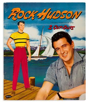 (ROCK HUDSON 1925-1985) (PAPER DOLLS). Rock Hudson
