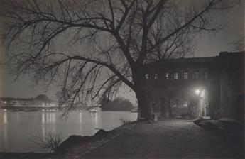 JOSEF SUDEK (1896-1976) Kampa--Diffused Light Effect * Kampa at Night.