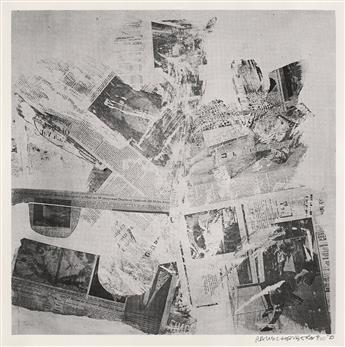 ROBERT-RAUSCHENBERG-Two-screenprints-from-Features-from-Curr