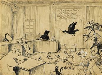"""KURT WIESE. """"The First Animal Bank of Centerboro."""""""