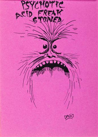 DAVID WOJNAROWICZ (1954 - 1992) Stoned Sketchbook