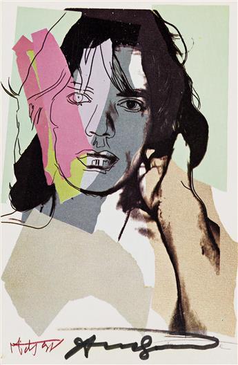 ANDY WARHOL (after) Mick Jagger Portfolio