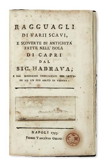 CAPRI--Hadrawa-[or-Hadrava]-Norbert-Ragguagli-di-Varii-Scavi