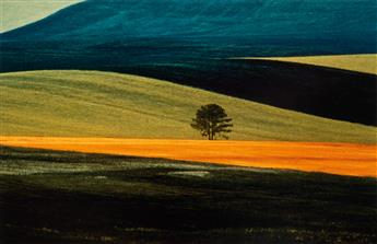 FRANCO FONTANA (1933- ) Group of 11 striking color field landscape abstractions.