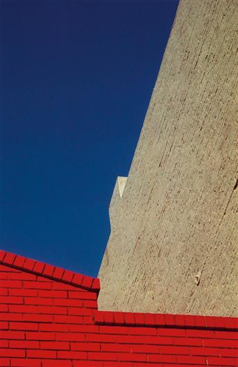 FRANCO FONTANA (1933- ) A group of 8 architectural abstraction photographs.