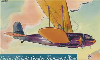 (ADVERTISING)--WILLIAM-HEASLIP-Famous-Aircraft