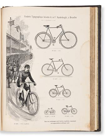 [SPECIMEN BOOK — A. VANDERBORGHT & DUMONT]. Foderie & Gravure Typographiques A. Vanderborght & Dumont. A. & F. Vanderborght, (1900).