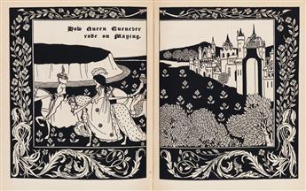 (BEARDSLEY-AUBREY)-Malory-Thomas-Sir-Le-Morte-dArthur-The-Bi