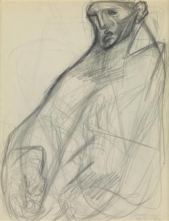 CHARLES WHITE (1918 - 1979) Remembering (Study of