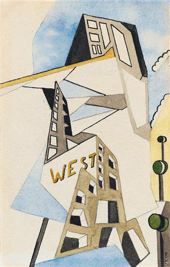 RALSTON-CRAWFORD-Untitled-(City-Abstraction)