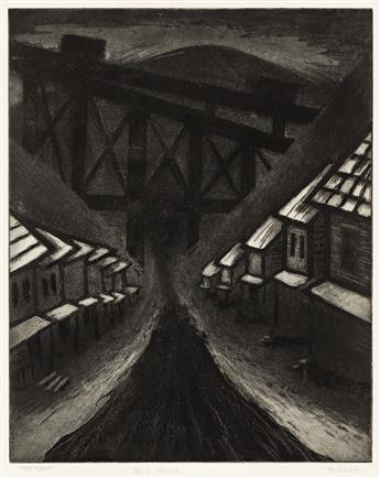 HUGH MILLER (1911-1988) No. 6 Patch.