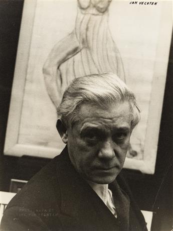 CARL VAN VECHTEN (1880-1964) Abraham Walkowitz.