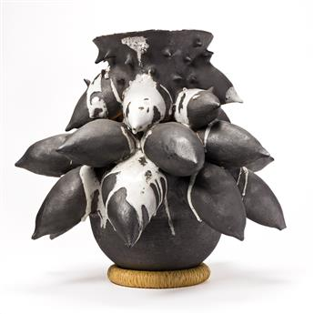 SIMONE LEIGH (1967 -  ) Untitled (Vessel).