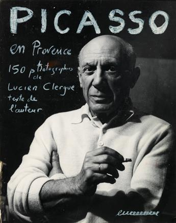 LUCIEN CLERGUE. The maquette for Clergues unpublished book project titled Picasso en Provence.