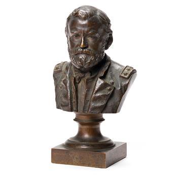 (PRESIDENTS.) H.K. Bush-Brown, sculptor. Bust of Ulysses S. Grant as a general.