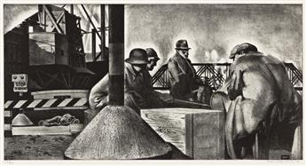 LOUIS LOZOWICK (1893-1973) Dead End.