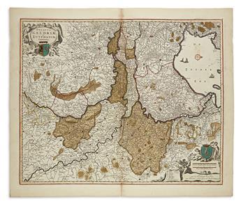 VISSCHER, NICOLAS. Kennemaria et Westfrisia Vulgo et Vernacule Noord-Holland.