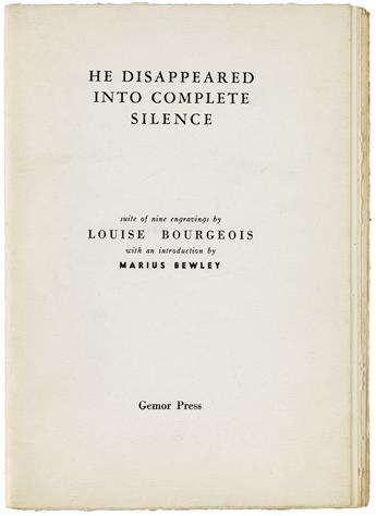 LOUISE-BOURGEOIS-He-Disappeared-Into-Complete-Silence