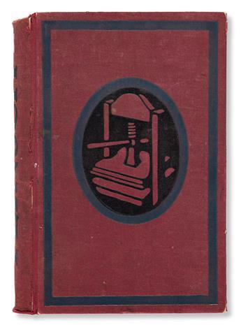 [SPECIMEN BOOK — SCHRIFTGIESSEREI FLINSCH]. Schriftgiesserei Flinsch. Frankfurt a. M., no date (ca. 1910s).