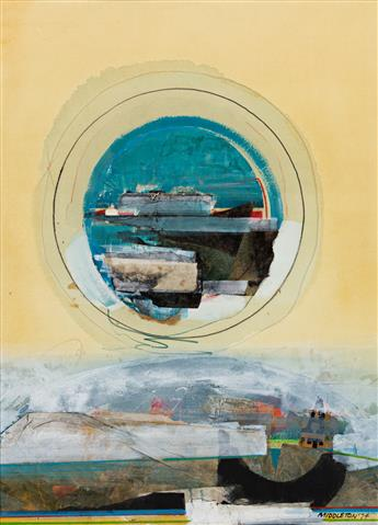 SAM MIDDLETON (1927 - 2015, AMERICAN) Autumn Mist.