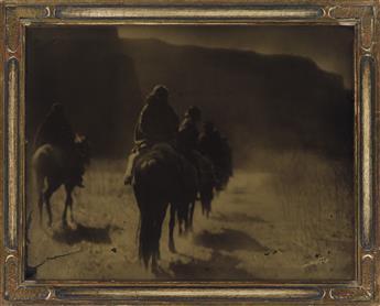 EDWARD-S-CURTIS-(1868-1952)-The-Vanishing-Race--Flathead-Cam
