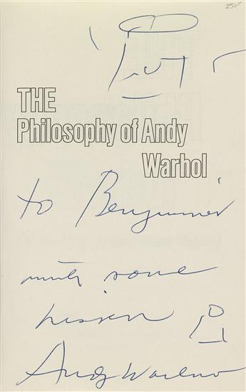 ANDY-WARHOL-(1928-1987)--The-Philosophy-of-Andy-Warhol-(From