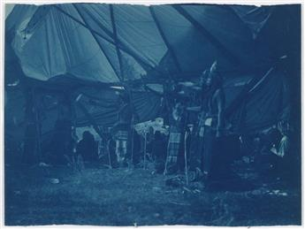 EDWARD-S-CURTIS-(1868-1952)-A-suite-of-18-cyanotypes-with-im