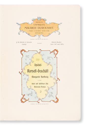 [SPECIMEN BOOK — SCHELTER & GIESECKE]. Rokoko-Ranken. J. G. Schelter & Giesecke, Leipzig, 1898.