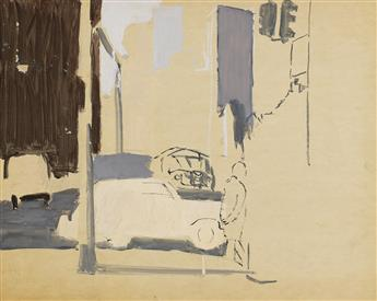 FAIRFIELD-PORTER-Study-for-Street-Scene
