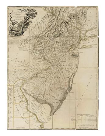 FADEN, WILLIAM. The Province of New Jersey, Divide