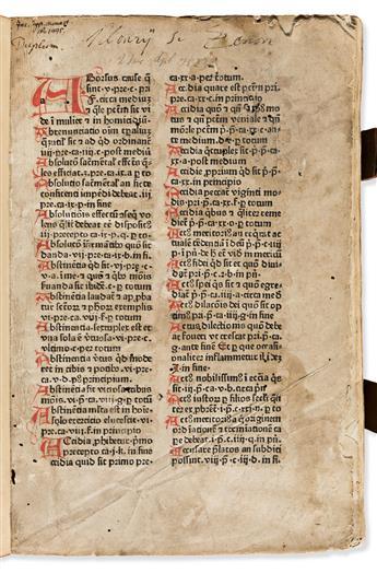 Nider, Johannes (c. 1380-1438) Praeceptorium Divinae Legis, sive Expositio Decalogi.