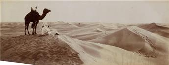 (ORIENTALISM--ALGERIA) LEHNERT & LANDROCK; BOUGAULT (active 1880s-1910s Suite of 29 stunning panoramic photographs by Lehnert & Landroc